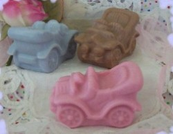 Antique Car Soap and Wax Mold