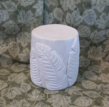 Banana Plant Solid Pillar Candle Mold