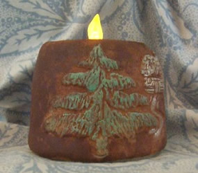 Woodland Pine Cabin Soap Mold