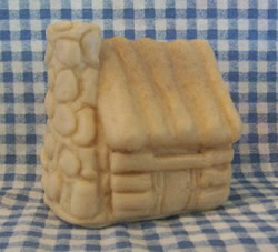 Old Stone Chimney Log House Candle Mold