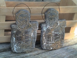 Civil War Soldier Soap and Wax Ornament Mold