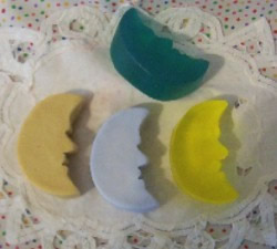 Crescent Moon Soap and Wax Mold