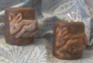 Resting Baby Deer Soap and Beeswx Votive Candle Mold