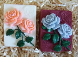 Rose Soap Bar Mold