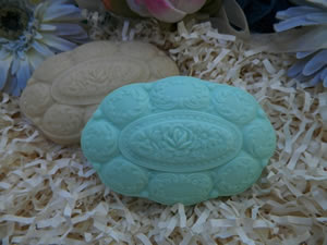 Ornate Filigree Soap Bar Mold