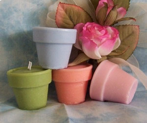 Flower Pot Soap and Candle Mold