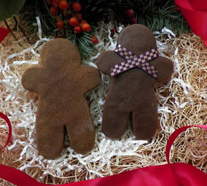 Gingerbread Man Soap Beeswax and Melt Mold
