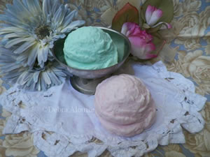 Ice Cream Soap and Candle Mold