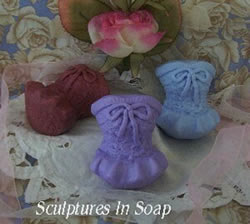Lace Corset Soap Mold