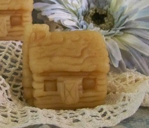 Rustic Log Cabin Soap and Candle Mold