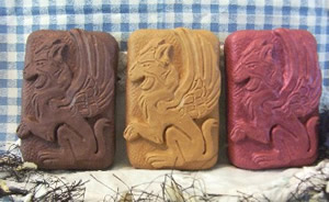 Winged Griffin Soap Bar Mold