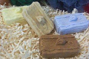 Mouse on Hay Bale Soap Bar Mold