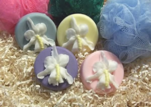 Orchid Flower Soap Mold