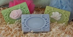 Ornate Frame Soap Bar Mold