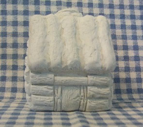 Plantation Cabin Candle and Wax Mold