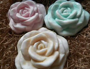 Rose Bloom Bath Bomb Mold