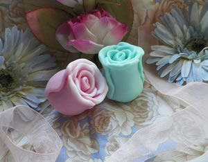 Rose Bud Soap Mold