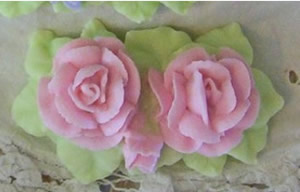 Rose Garden Soap Mold