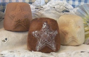 Triple Star Flicker and Votive Candle Mold