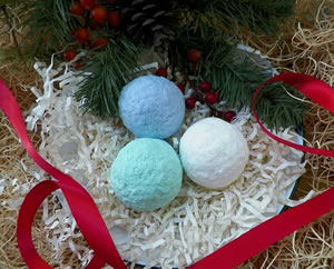 Snowball Soap and Wax Mold