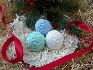 Whipped Snowball Soap and Wax Mold
