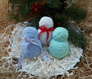 Snowman Soap and Wax Mold
