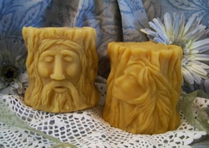 The Love Affair Solid Pillar Candle Mold Set