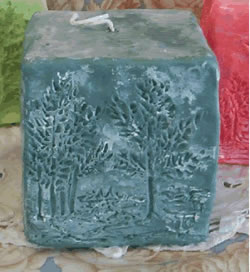 Treescapes Candle Mold