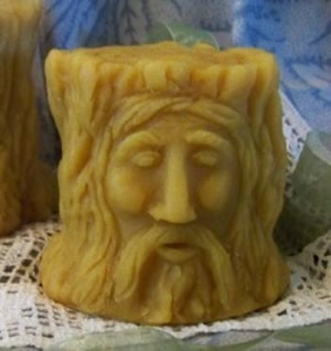 Wood Spirit Flicker Candle Mold